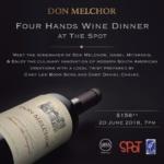Don Melchor Four Hands Wine Dinner