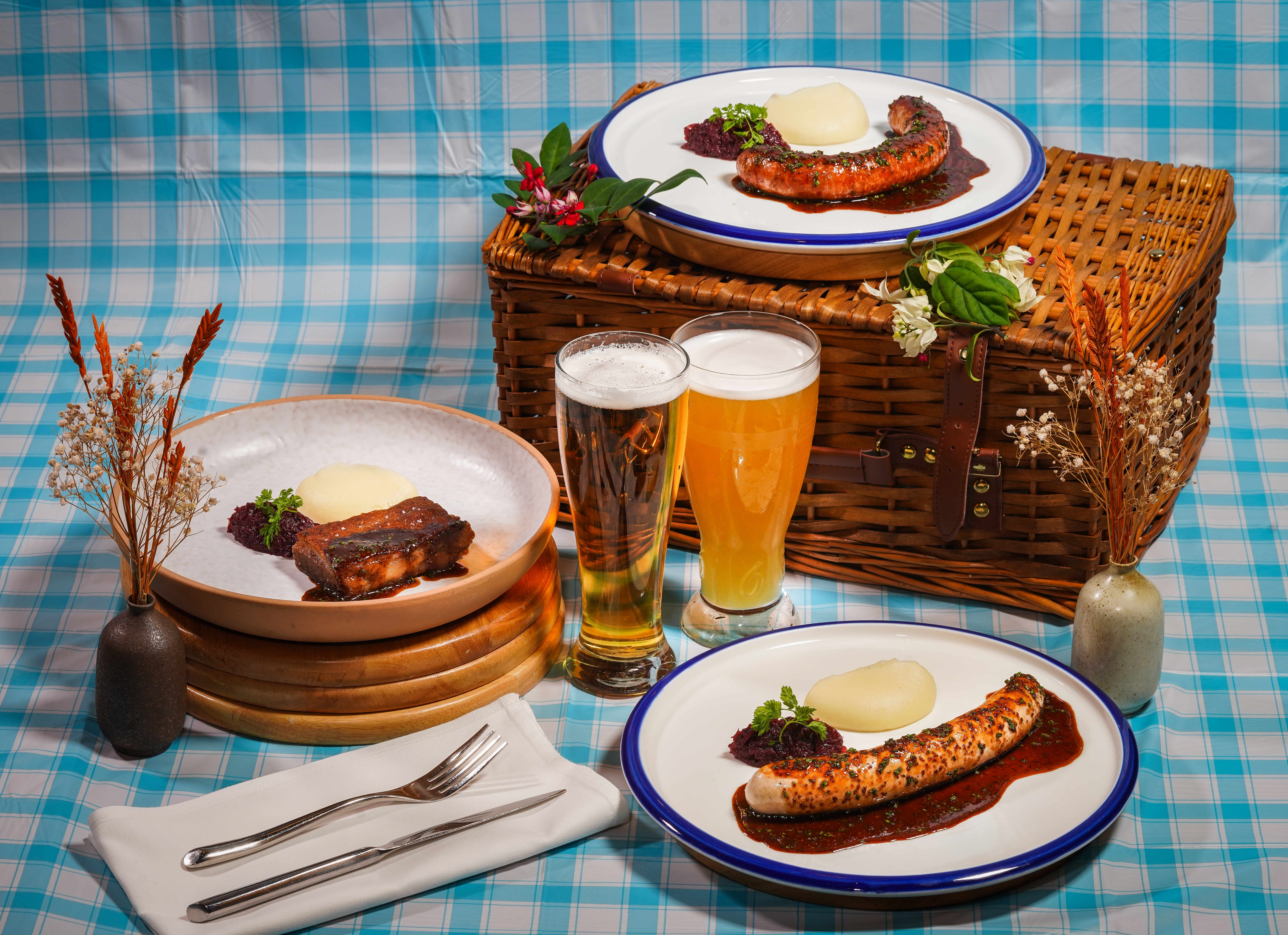 oktoberfest bavarian specials with beer promos for $9 all day at The Spot Singapore